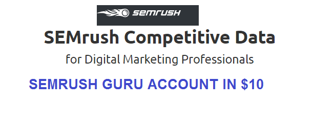 SEMrush Guru Account