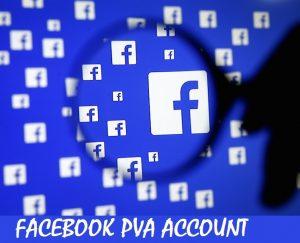 Facebook PVA Account
