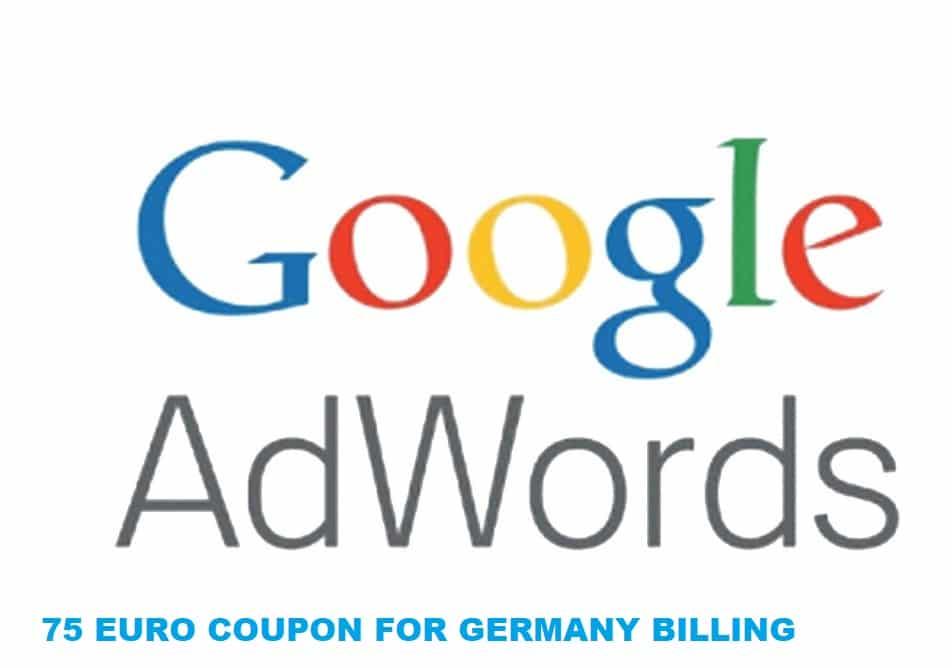 Google Adwords Coupon Germany