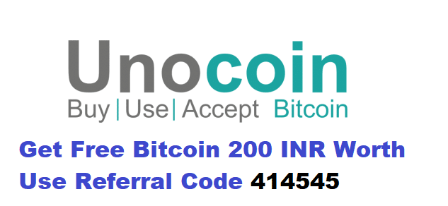 Unocoin Referral Code
