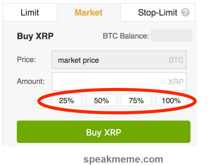Ripple percentages