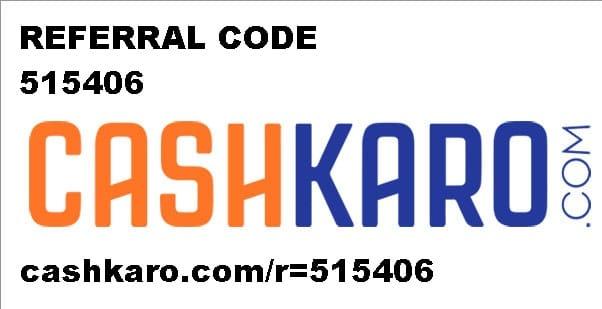 cashkaro-referral-code